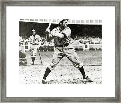 Joe Tinker Framed Print