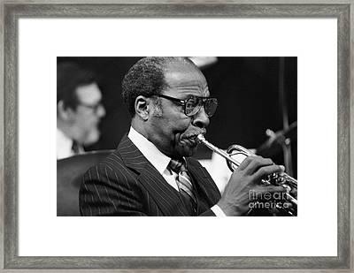 Joe Wilder Framed Print by The Harrington Collection