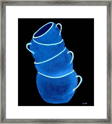 Joe's Lefthanded Cup Framed Print