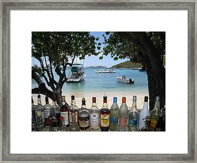 Joe's Rumhut Framed Print by Ginger Howland