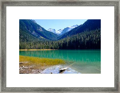 Joffre Lake Horizontal Framed Print