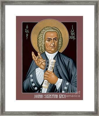 Johann Sebastian Bach - Rljsb Framed Print