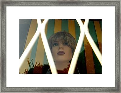 Johanna Framed Print by Jez C Self