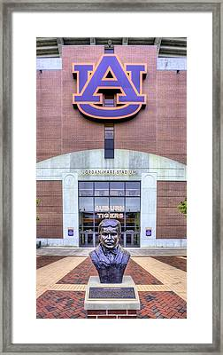 Johh Heisman  Framed Print by JC Findley