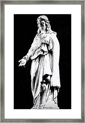 John 14-6 Framed Print