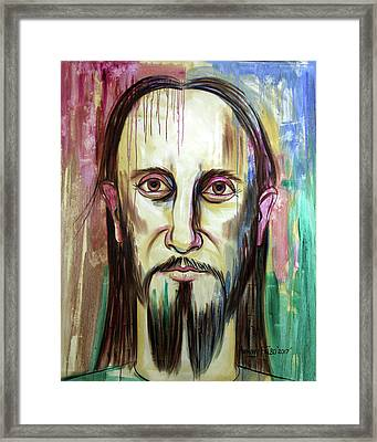 John 14 9 Anyone Who Has Seen Me Has Seen The Father  Framed Print by Anthony Falbo