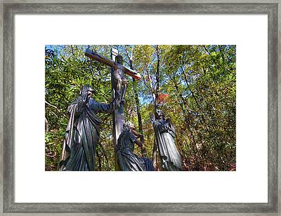 Framed Print featuring the photograph John 3 16 by Mitch Cat