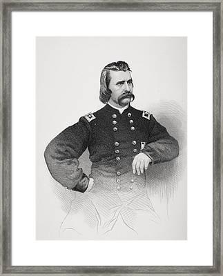 John A. Logan 1826 To 1886. Union Framed Print by Vintage Design Pics