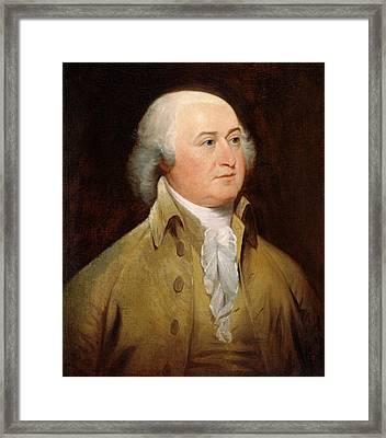 John Adams Framed Print by John Trumbull