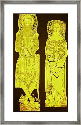 John And Joan De Northwood.jpg Framed Print