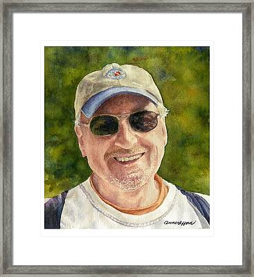 Framed Print featuring the painting John by Anne Gifford