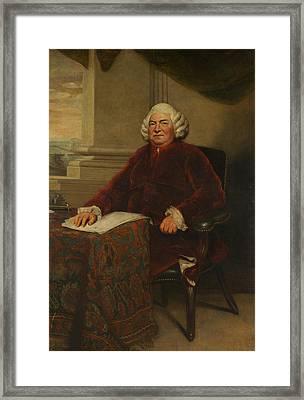 John Barker Framed Print by Joshua Reynolds