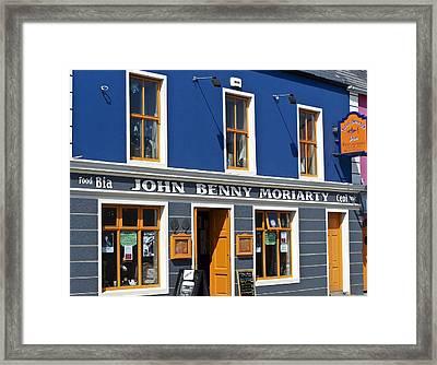 John Benny Framed Print