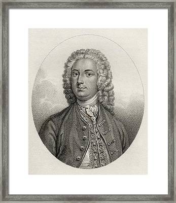 John Boyle 5th Earl Of Cork And Orrery Framed Print by Vintage Design Pics