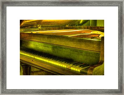 John Broadwood And Sons Piano Framed Print