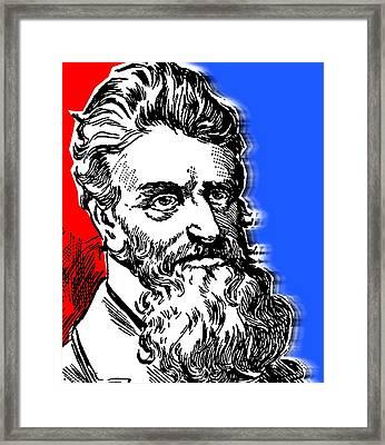 John Brown-2 Framed Print by Otis Porritt