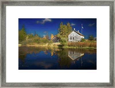 John Brown Farm Framed Print