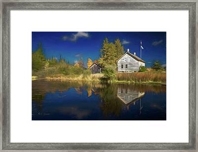 John Brown Farm Framed Print