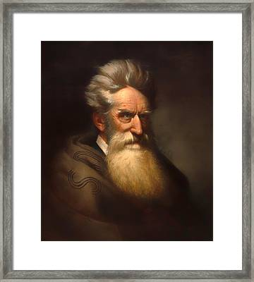 John Brown Framed Print by Mountain Dreams