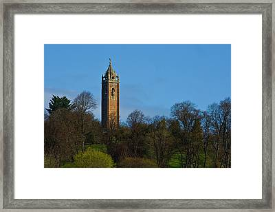 John Cabot Tower Framed Print