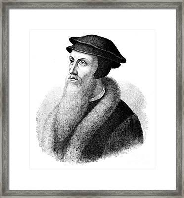 John Calvin Framed Print