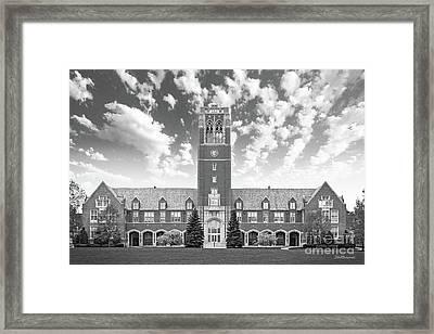 John Carroll University Administration Building Framed Print