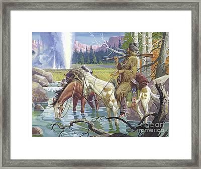 John Colter Framed Print