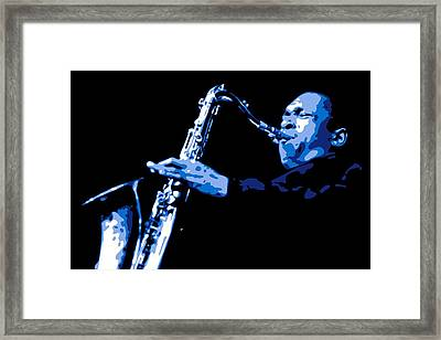 John Coltrane Framed Print by DB Artist
