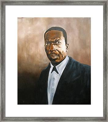 John Coltrane Framed Print by Martel Chapman
