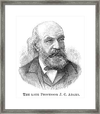 John Couch Adams (1819-1892) Framed Print by Granger