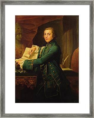 John Crewe Framed Print by Pompeo Girolamo Batoni