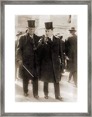 John D. Rockefeller Sr., Founder Framed Print by Everett