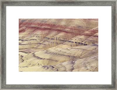 John Day Fossil Beds Framed Print by Greg Vaughn - Printscapes