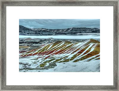John Day Layers Framed Print