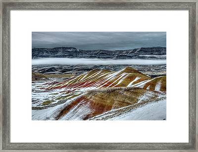 John Day Layers - 2 Framed Print