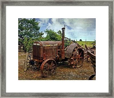John Deer 3 Framed Print