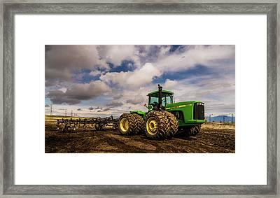 John Deere 9200 Framed Print