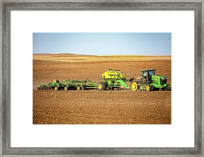 John Deere 9560 Rt Framed Print