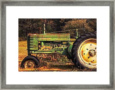 John Deere Retired Framed Print