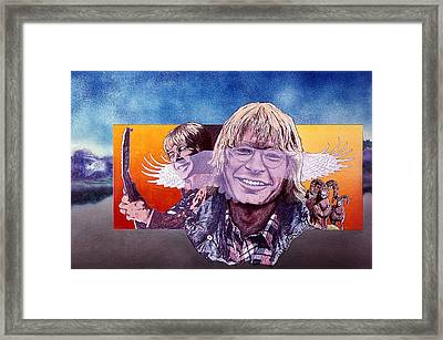 John Denver Framed Print