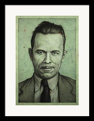Dillinger Framed Prints