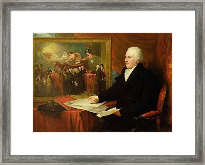 John Eardley Wilmot  Framed Print by Benjamin West
