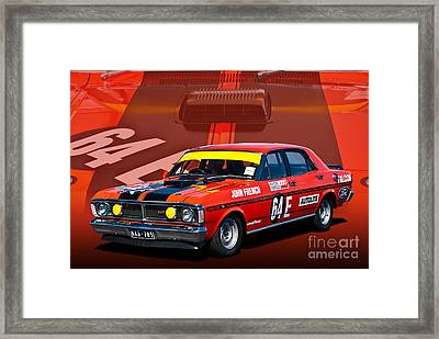 John French Xy Falcon 351 Gtho Framed Print