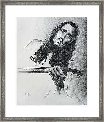 John Frusciante 1 Framed Print