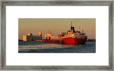 Framed Print featuring the photograph John G Munson by Gregory Israelson