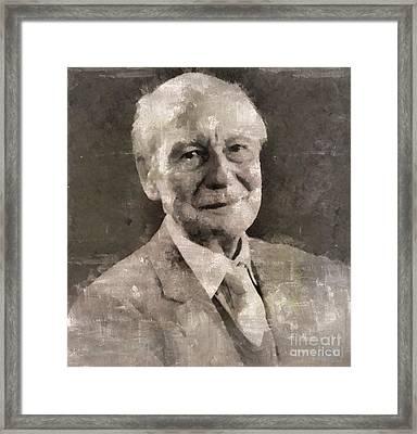 John Gielgud, Actor Framed Print