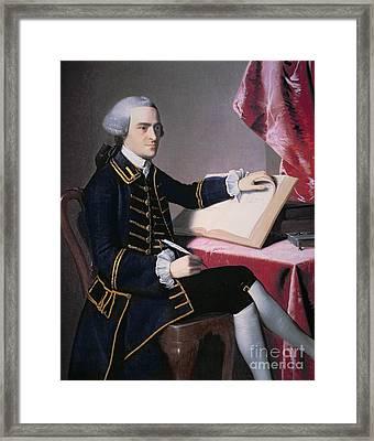 John Hancock Framed Print