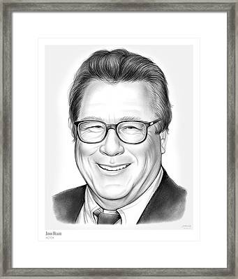 John Heard Framed Print