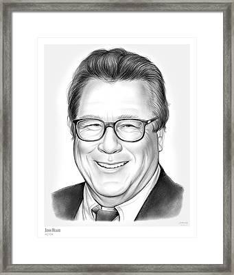 John Heard Framed Print