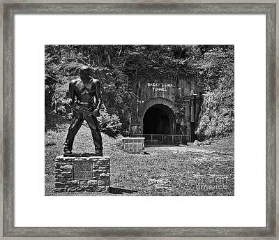 John Henry - Steel Driving Man Framed Print
